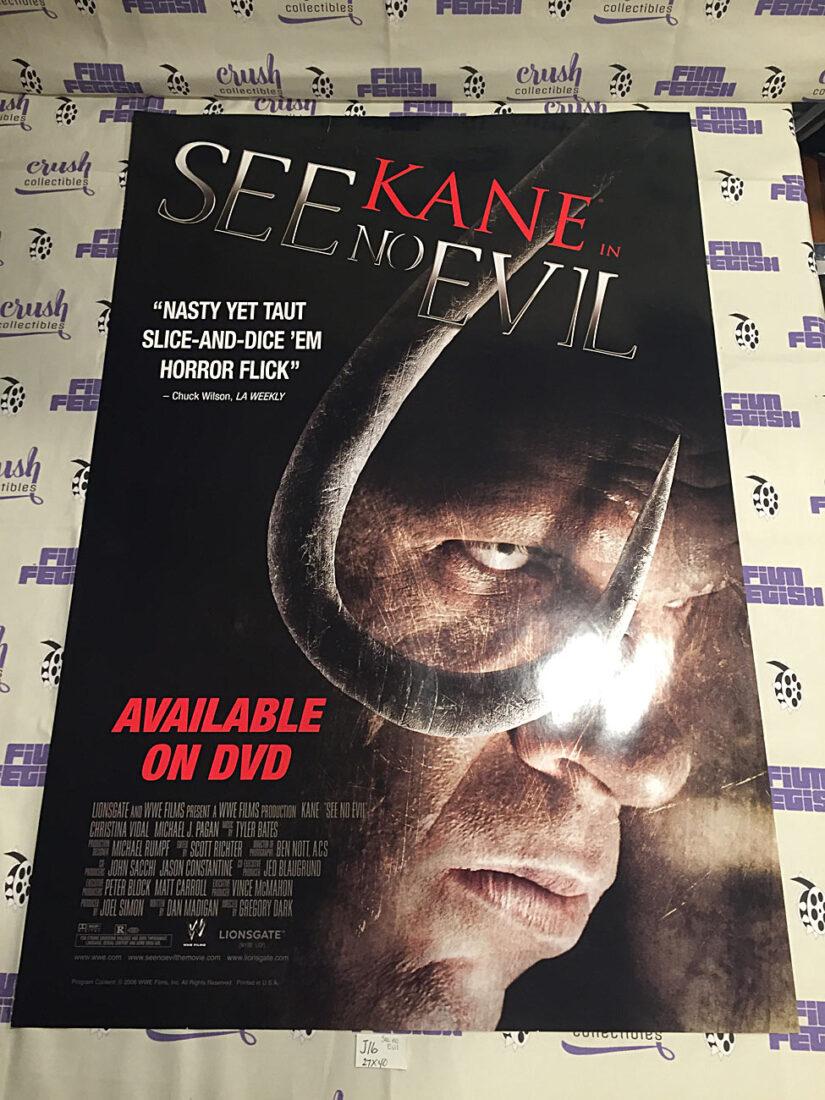 See No Evil – Kane 27×40 inch Original Movie Poster