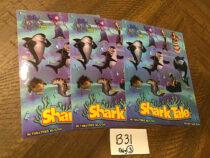 Shark Tale Set of 3 Promotional Sticker Sets [B31]