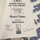Soul for Hire: 3 Shots to the Heart (2005) Limited Edition Comic Book Signed 35/150 by Robert Granito [C36]