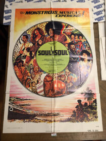 Soul to Soul (1971) Original 27×41 inch Movie Poster [C57]