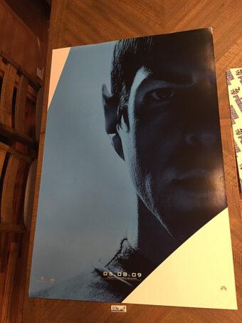 Star Trek (2009) Original 27×40 inch Movie Poster Zachary Quinto Character [D36]