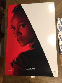 Star Trek (2009) Original 27×40 inch Movie Poster Zoe Saldana Character [D37]