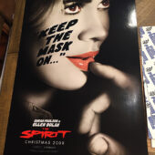 The Spirit Original 27×40 inch Character Movie Poster (2008)
