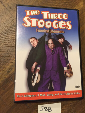 The Three Stooges Funniest Moments Volume 1 DVD Edition [J88]