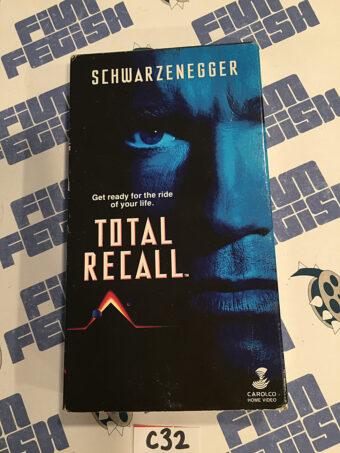 Total Recall VHS Edition (1990) Arnold Schwarzenegger [C32]