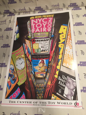 New York City NYC Toy Fair 2009 Official 24×36 inch Show Poster [J20]