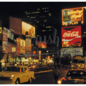 Times Square New York City at Night 1978 Photo Print [210523-0002]