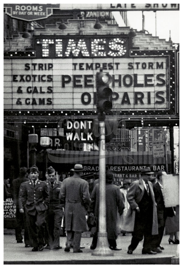 Times Square Theater New York City, Tempest Storm in Peepholes of Paris Photo [210523-0006]