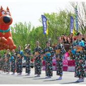 Scooby Doo Balloon and Geisha at 2012 National Cherry Blossom Parade and Festival Photo [210809-0005]