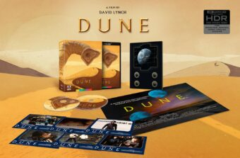 Dune Limited Edition 4K Ultra HD + Book + Poster + Reproduction Lobby Card Set