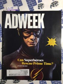 Adweek Magazine (January 12, 2015) Grant Gustin, DC Comics The Flash [9175]