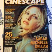 Cinescape Magazine (July/August 1998) Sarah Michelle Gellar Cover, Movie Previews [678]
