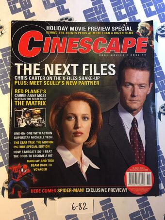 Cinescape Magazine (Nov/Dec 2000) Gillian Anderson, Robert Patrick, The X-Files [682]