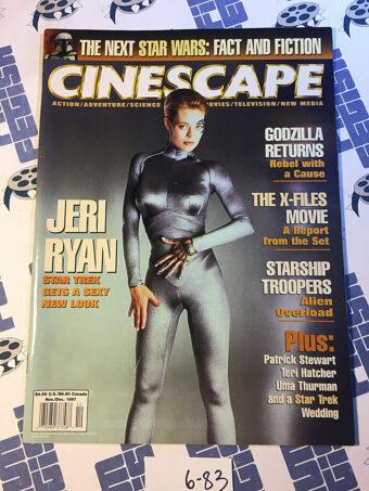 Cinescape Magazine (Nov/Dec 1997) Jeri Ryan, Star Trek: Voyager [683]