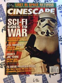 Cinescape Magazine (March/April 1998) Stormtrooper Star Wars Cover [686]