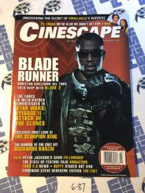 Cinescape Magazine (February 2002) Wesley Snipes, Blade II [687]