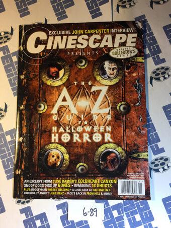 Cinescape Magazine (November 2001) A-Z Guide to Halloween Horror [689]