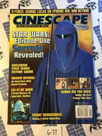 Cinescape Insider Magazine (October 1998) Star Wars Special Collector's Issue [677]