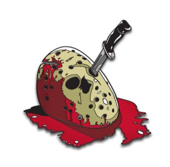 Friday the 13th: The Final Chapter Enamel Pins Designed by Ghoulish Gary Pullin