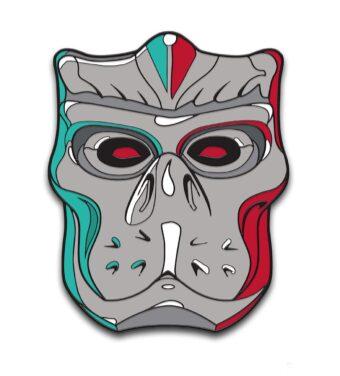 Friday the 13th: Jason X Enamel Pins Designed by Ghoulish Gary Pullin Waxwork