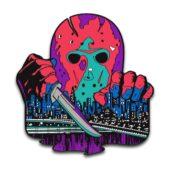 Friday the 13th Part VIII: Jason Takes Manhattan Enamel Pins Designed by Ghoulish Gary Pullin Waxwork