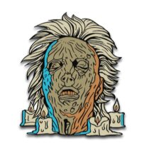 The Original Friday the 13th Enamel Pins Designed by Ghoulish Gary Pullin Waxwork