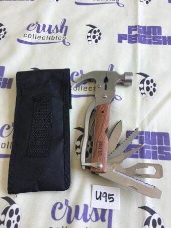 12-in-1 Hammer Tool Swish Army Knife Mad Man [U95]