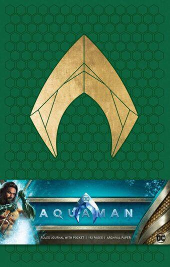 DC Comics Aquaman Film Hardcover Ruled Journal