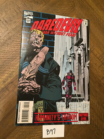 Daredevil No. 335 Marvel Comic Book (December 1994) Humanity's Fathom, Part 3 of 5 [B97]