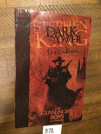 Stephen King The Dark Tower Sketchbook Marvel Comic Book (2006) Jae Lee, Richard Isanove [B78]