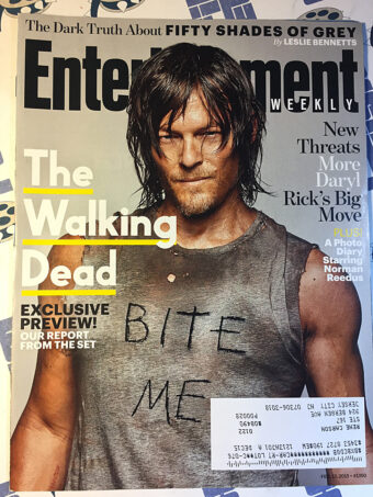 Entertainment Weekly Magazine (Feb 13, 2015) Norman Reedus, The Walking Dead Preview [654]
