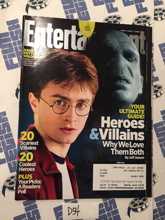 Entertainment Weekly Magazine (Apr 3, 2009) Daniel Radcliffe, Harry Potter [D54]