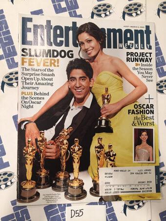 Entertainment Weekly Magazine (March 6, 2009) Dev Patel, Freida Pinto, Slumdog Millionaire
