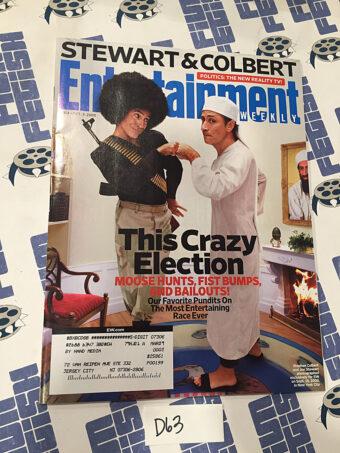 Entertainment Weekly Magazine (Oct 3, 2008) Jon Stewart, Stephen Colbert [D63]