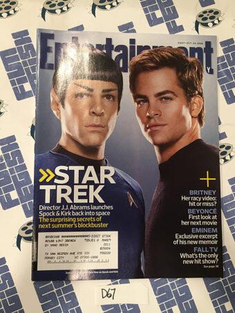 Entertainment Weekly Magazine (Oct 24, 2008) Chris Pine, Zachary Quinto, Star Trek [D67]