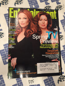 Entertainment Weekly Magazine (Mar 28, 2008) Marcia Cross, Dana Delany [D75]