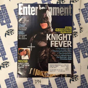 Entertainment Weekly Magazine (Aug 1, 2008) Christian Bale, The Dark Knight, Batman [D94]
