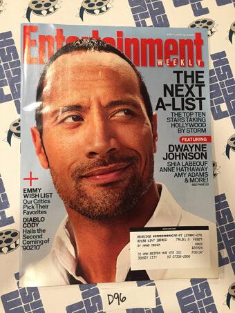 Entertainment Weekly Magazine (June 13, 2008) Dwayne Johnson, Shia Labeouf [D96]