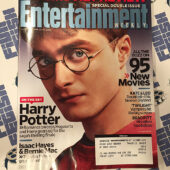 Entertainment Weekly Magazine (Aug, 2008) Daniel Radcliffe, Brad Pitt, Isaac Hayes, Bernie Mac [D99]