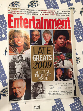 Entertainment Weekly Magazine (Dec 4, 2009) Michael Jackson, Farrah Fawcett [E01]
