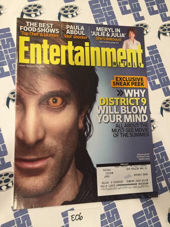 Entertainment Weekly Magazine (Aug 14, 2009) Sharlto Copley, District 9 [E06]