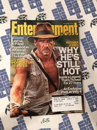 Entertainment Weekly Magazine (Mar 14, 2008) Harrison Ford, Indiana Jones [E15]