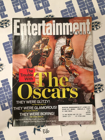 Entertainment Weekly Magazine (Mar 7, 2008) Trouble with The Oscars [E16]