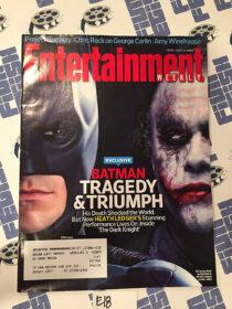 Entertainment Weekly Magazine (July 11, 2008) Heath Ledger, Batman, Joker, The Dark Knight [E18]