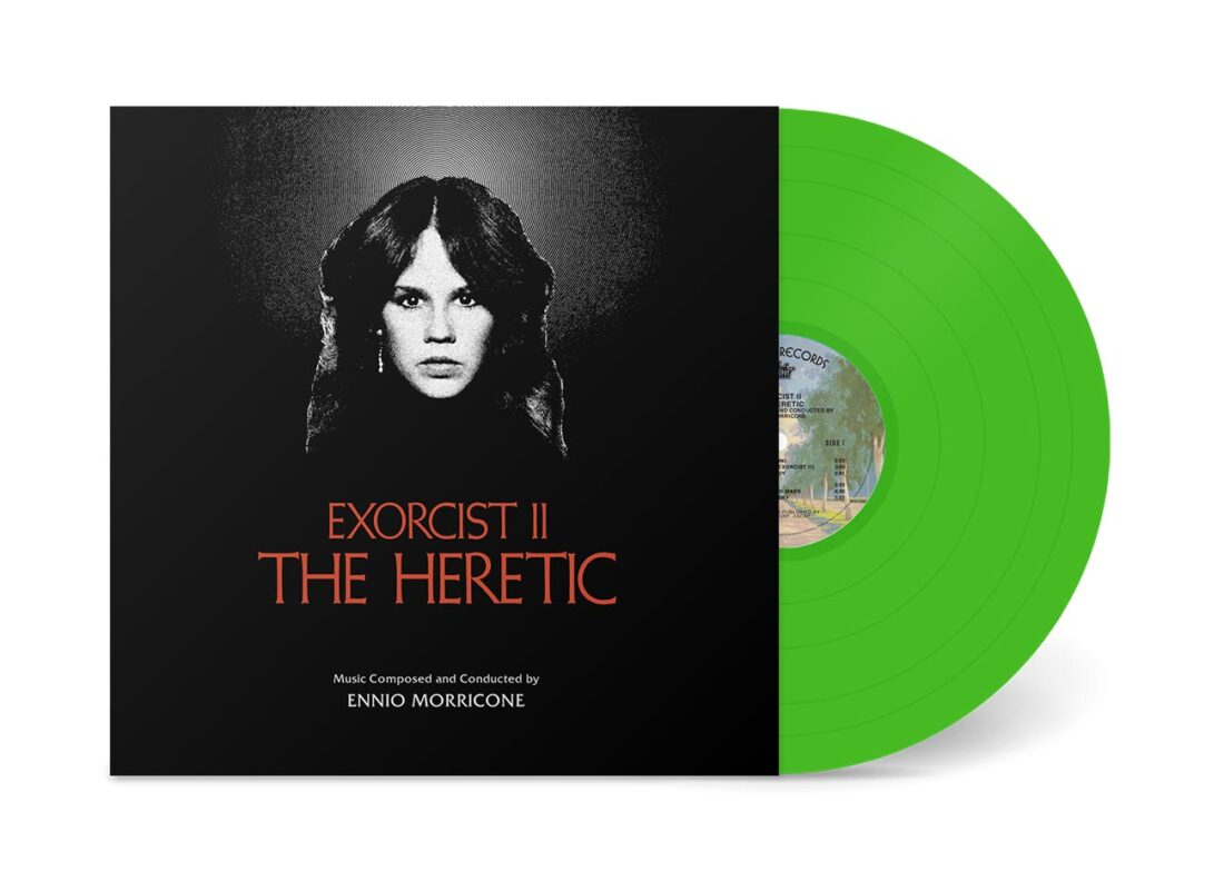 Exorcist II: The Heretic Original Motion Picture Soundtrack Florescent Green Vinyl Edition by Ennio Morricone