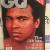 GQ Magazine (April 1998), Muhammad Ali Athlete of the Century, 14-Page Exclusive Photo Spread [L71]