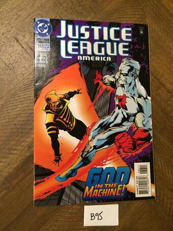 Justice League America No. 86 DC Comic Book (March 1994) God in the Machine [B95]