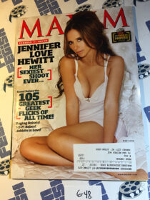 Maxim Magazine The Ultimate Movie Issue (May 2009) Jennifer Love Hewitt Sexy Shoot [648]