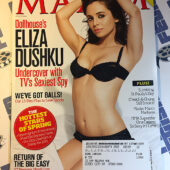 Maxim Magazine The Ultimate Sex Survey (March 2009) Eliza Dushku TV's Sexiest Spy [650]
