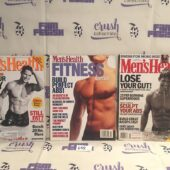 Set of 3 Issues of Men's Health Magazine (Aug 2003, Aug 2000, Fitness Special Summer 1996) [L58]